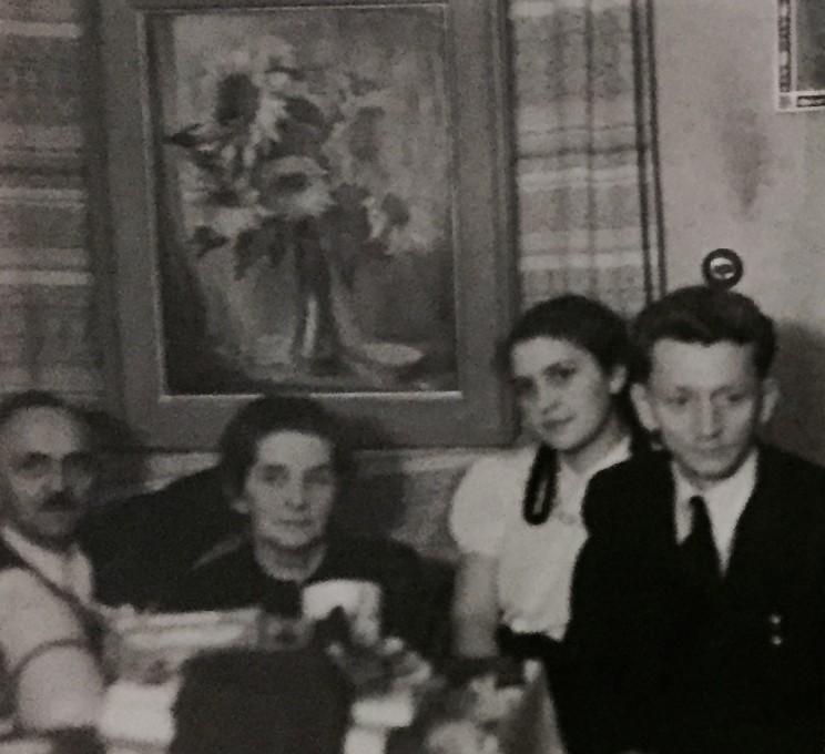 Richard Gerber und Familie Turba